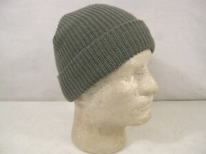 63710ea8fed US Army Cold Weather Knit ACU Foliage Green Watch Cap - Size Med Lg ...
