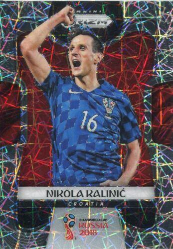 Prizm Copa del Mundo 2018 Tarjeta Base Paralelo láser #232 Nikola Kalinic-Croacia
