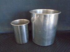 Vollrath 8 Quart Amp 2 Quart Stainless Steel Bain Marie Pot With Rim No Spout 78720