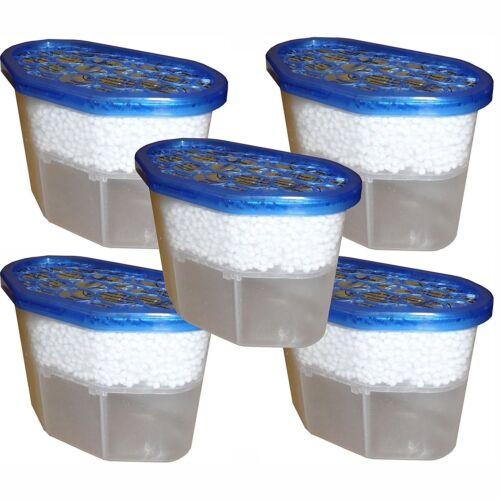 Pack de 5 intérieur Déshumidificateurs cristaux supprime Odeur Fast Action Hydrophile