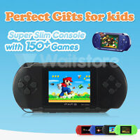 Us Stock Pxp3 Game Console Handheld Portable 16 Bit Retro Video 150+ Games Lcd