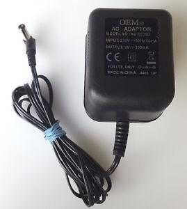 Oem-AD-0930D-Ac-Dc-Adaptador-Fuente-de-Alimentacion-9v-0-3a-Enchufe-Ru