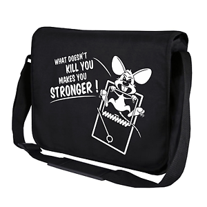 What-doesn-039-t-kill-you-makes-you-stronger-Gym-Umhaengetasche-Messenger-Bag