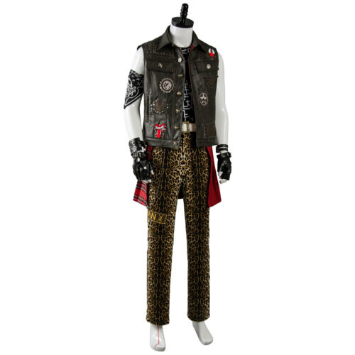 Final Fantasy XV FF15 Prompto Argentum Cosplay Costume Complete Outfit Vest Suit