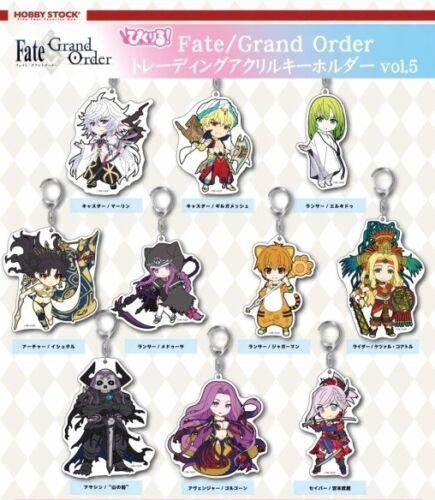 Pikuriru Fate//Grand Order Trading Acrylic Keychain Vol Pic-Lil 5 Caster Merlin