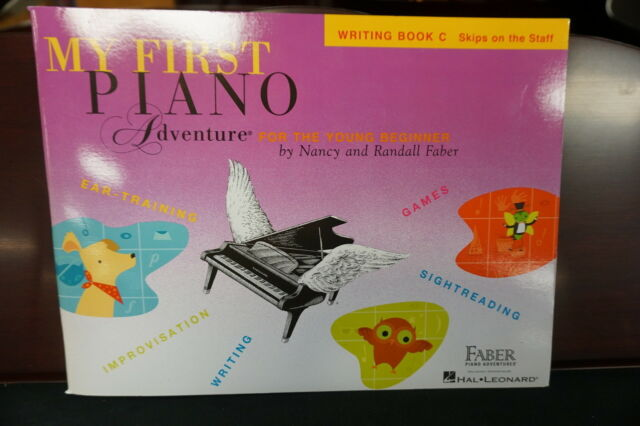 My First Piano Adventure Writing Book C Skips On The Staff