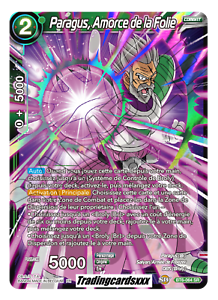 Amorce de la Folie ♦Dragon Ball Super♦ Paragus VF BT6-064 SR
