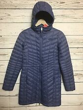 The North Face Thermoball Hooded Parka Jacket *Wet/Cold *Ultralight XS Blue $230