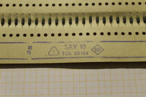 20 unidades diodos say18 más rápido interruptor u 25v 115ma 300mw /< 2ns ø2 4mmx5mm