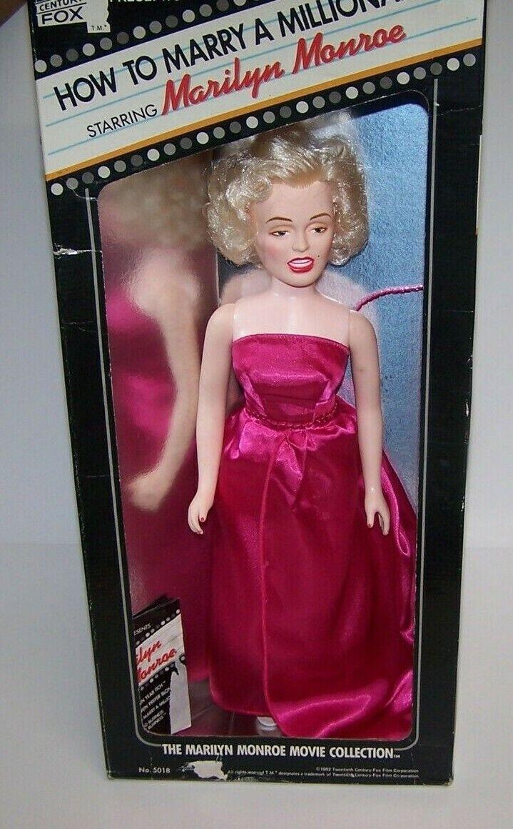 Marilyn Monroe 16  Muñeca cómo casarse con un millonario Century Fox 1982 SELLADO NIB
