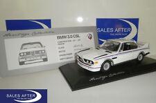 Original BMW Miniatur E9 3.0 CSL Heritage Collection 1:18 Modellauto MINICHAMPS