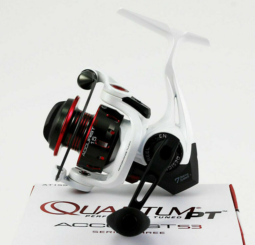 NEW QUANTUM PT ACCURIST S3 5.3 1 SPINNING REEL AT15SPT.BX3