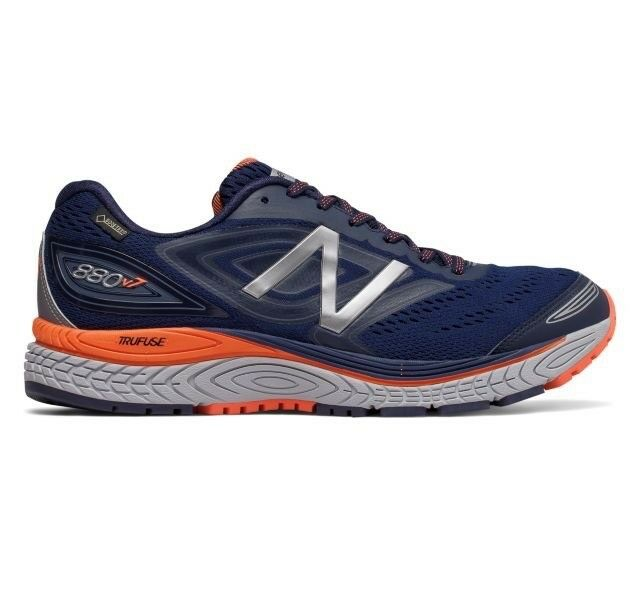 Men's New Balance M880BX7 Gore-Tex Running shoes - Navy orange - NIB