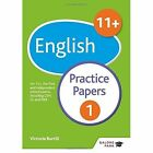 11+ English Practice Papers 1: For 11+, Pre-Test and Independent School Exams Including CEM, GL and ISEB by Victoria Burrill, Andrew Hammond (Paperback, 2016)