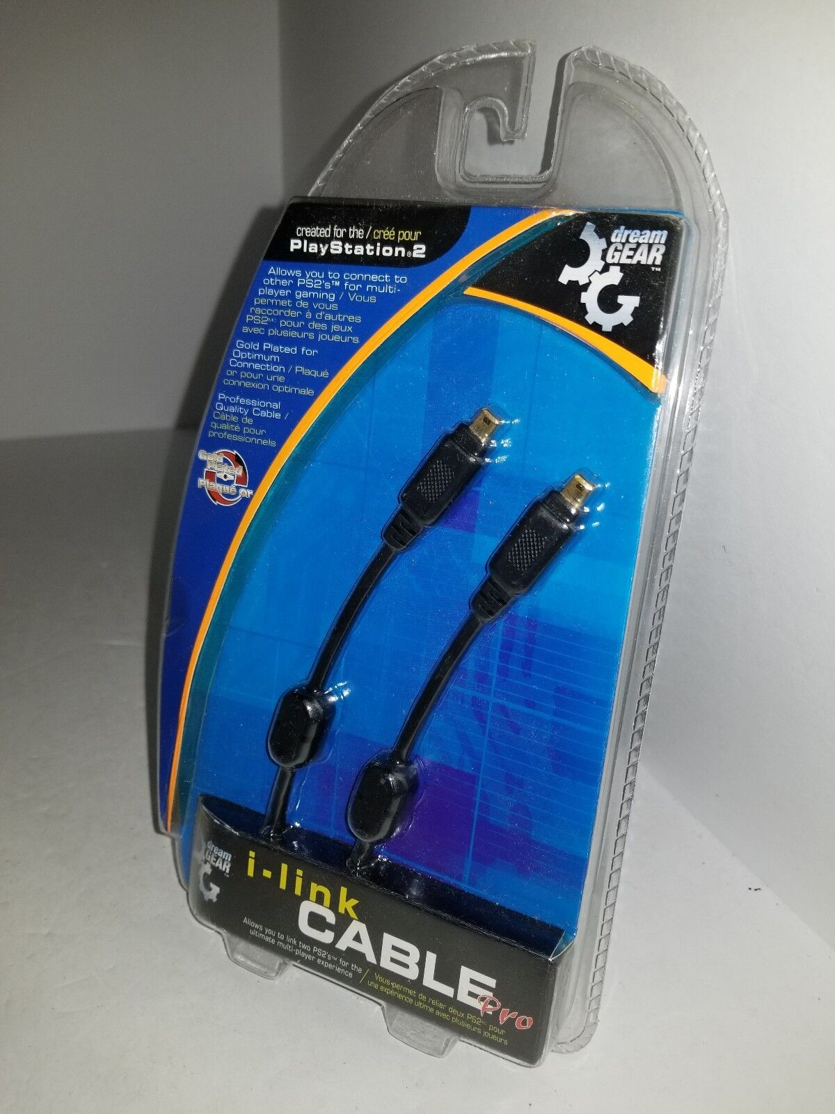 10 LOT 3' Gold FIREWIRE DV I-LINK CABLE IEEE 1394 4 to 4 Pin for PS2 M24