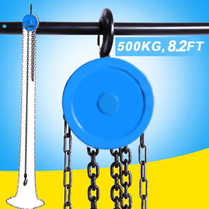 details about 2 5m / 8 2ft pulley chain block chain hoist cable hand  control pulley crane