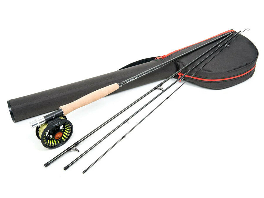 Guideline Kaitum Trout 9ft AFTM #5 #6 Rolle Rute Combo Fliegenfischen