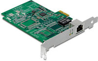 Trendnet 1-port Gigabit Pci Express Add-on Card Adapter Pcie Upgrade - Teg-ectx
