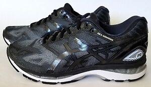online store 951d0 b602a Details about ASICS T702N Mens Gel-Nimbus 19 Running Shoes,  Black/Onyx/Silver Sz 8.5 & 9 US 4E