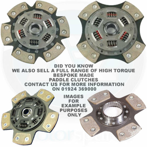 For VW Polo 6N1 Hback 64 1.9 D 94-99 3 Piece Sports Performance Clutch Kit