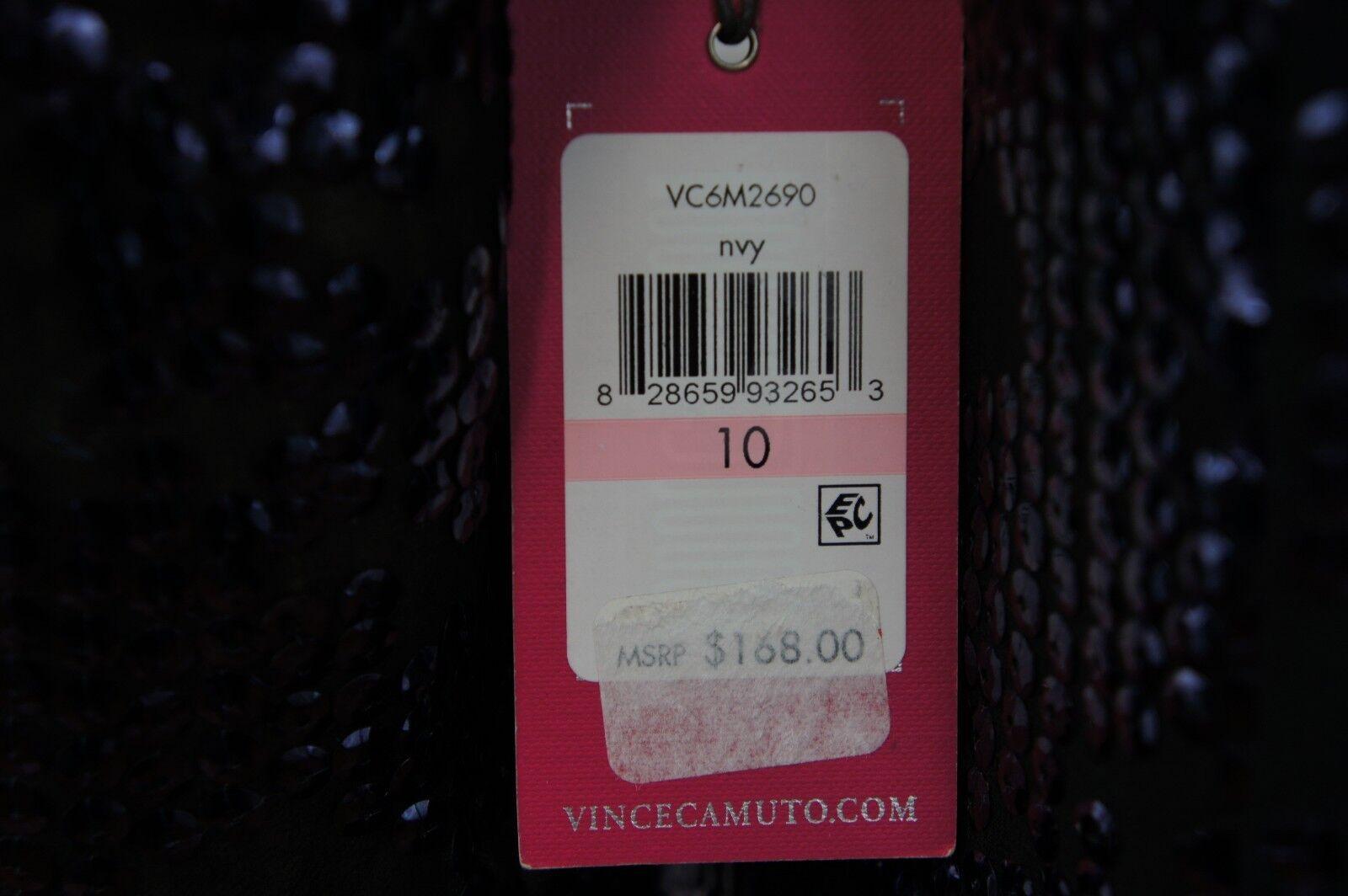 Vince Camuto  LUSSO Designer Astuccio Astuccio Astuccio Abito nachtbl Lustrini  40  NUOVO 9e0cd4