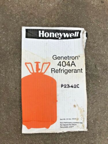 R-404A Refrigerant 24 LB Cylinder FACTORY SEALED Honeywell or DuPont