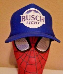 Busch-Light-Beer-Trucker-Hat-BUSCH-HUNTING-GUN-Bud-Budweiser-Latte-IPA-brew-CAMO