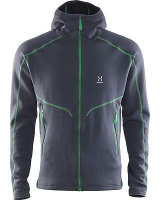 ef1351e1 Details about Haglofs Heron Hood - Stretch Fleece Mens Jacket - Sizes XXL  hagloff