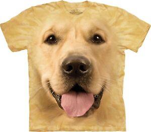 Adult Shirt Face Big Unisex Golden T The Mountain Z6IWBq