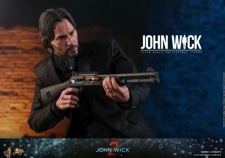 1 6 Hot Toys MMS504 John Wick capítulo 2 Keanu Reeves Baba Yaga Juguete Figura
