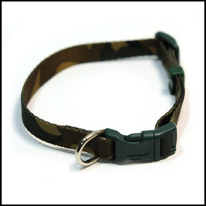 ANCOL-CAMOUFLAGE-ADJUSTABLE-DOG-COLLAR-2-sizes-to-choose-from-Small-or-Medium