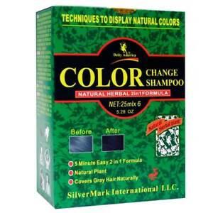 Deity America Color Change Shampoo Black, Natural Herbal 2 in 1 Formula, 5.28 oz