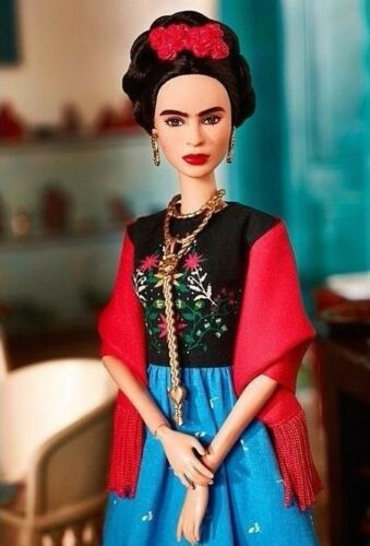 ❤ Frida Kahlo Mattel Barbie Doll Inspiring Women Series Mexican Artist IN STOCK❤