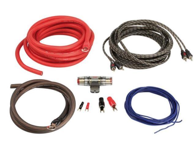 Amplificador Endstufeneinbau-Komplett-Kabelset LK-20