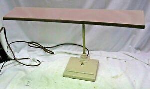"Vintage 18"" Art Specialty Co Sightmaster Desk Task Table Lamp Light 1950's"