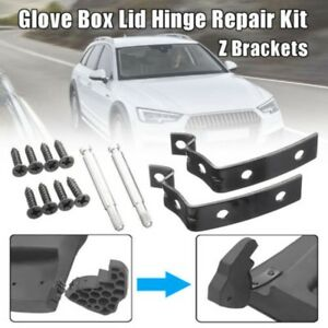 For-AUDI-A3-A4-S4-B6-B7-Glove-Box-Lid-Hinge-Snapped-Repair-Fix-Kit-Brackets