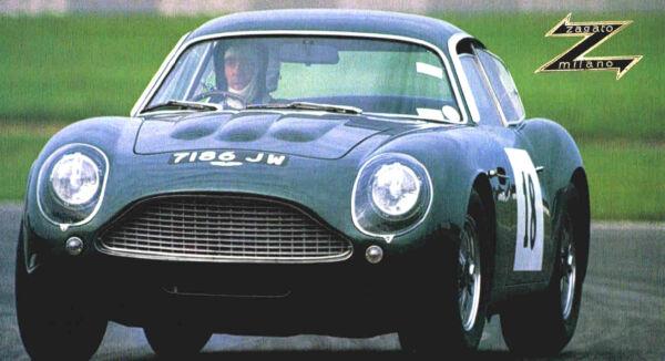 1960/1961/1962/1963 Aston Martin Db4 Gt Zagato Spec Foglio/brochure