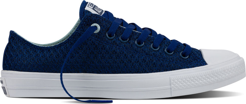 Converse Ct COMME II OX 154022 C UK 6 EU 39 Roadtrip bleu blanc Maille Neuf Baskets