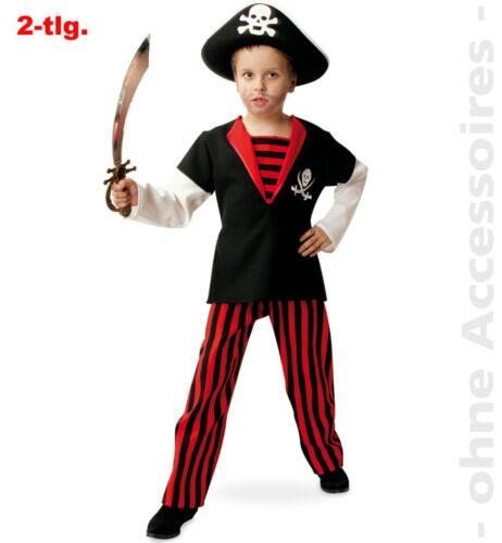 Pirat der Meere Kostüm Kinder Piratenkostüm Seeräuber Freibeuter Kinderkostüm
