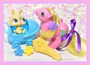 ❤️My Little Pony MLP G1 Vtg DUTCH RABBIT PONY Baby Bunny Snoozy Nirvana EURO❤️