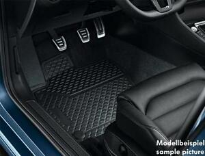 Genuine-VW-2016-TIGUAN-NEW-SHAPE-Front-and-Rear-Rubber-Floor-Mat-Set-New