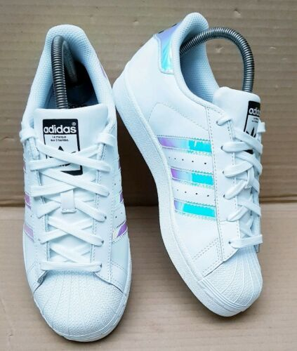 Dubaï Trainers Mint Uk Condition Taille 5 Blues 5 Adidas Superstar Holographic OxwqE7f