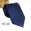 Classic-Red-Black-Blue-Mens-Tie-Paisley-Stripe-Silk-Necktie-Set-Wedding-Jacquard thumbnail 50