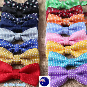 AU-Boys-Kid-Children-Party-School-Pre-tied-Wedding-dance-bow-tie-Necktie-bowtie