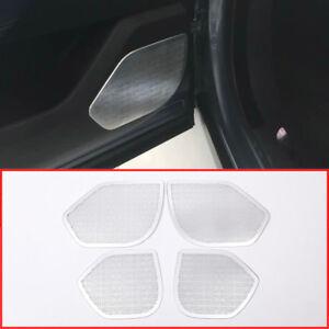Aluminum-alloy-Car-Door-Speaker-Cover-Trim-For-Land-Rover-Range-Rover-Velar-2017