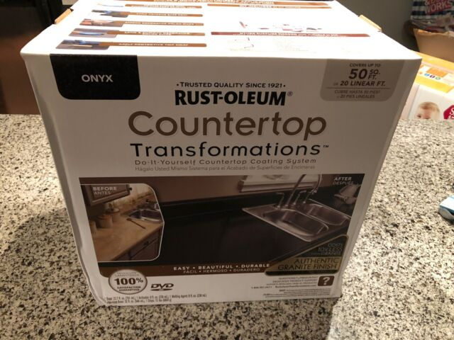 Rust Oleum Countertop Transformations Kit Pebbled Ivory Free For