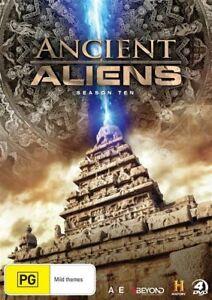 Ancient-Aliens-Season-10-R4-DVD-2017-4-Disc-Set-Brand-New