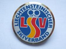 Vecchia spilla LIECHTENSTEINISCHER SKIVERBAND LSV sci ski old pin