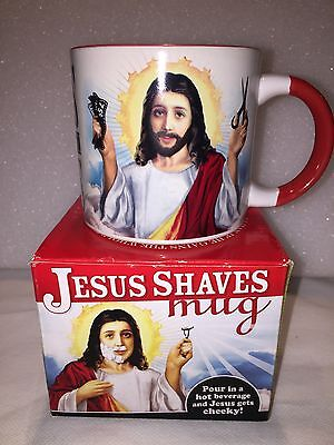 Jesus Saves//Shaves Heat Changing Mug