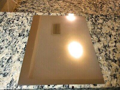 HD Metal ten 8.5X11 sheets Chrome Inkjet Printable HD Metal